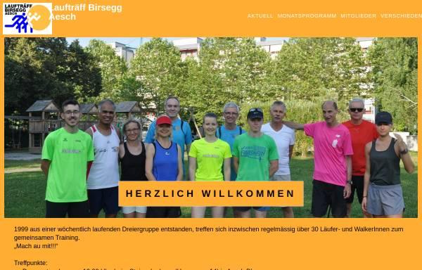 Vorschau von www.lauftraeff-birsegg.ch, Laufträff Birsegg - Aesch
