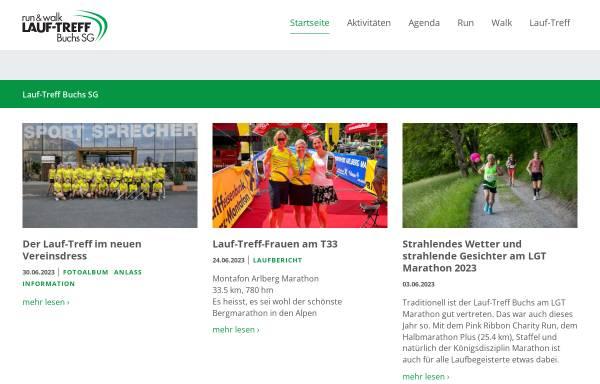 Vorschau von www.lauf-treff.ch, Lauf-Treff Buchs SG