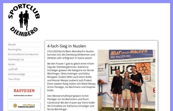 Vorschau von www.scdiemberg.ch, Sportclub Diemberg