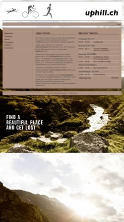 Vorschau der mobilen Webseite uphill.ch, Uphill Lauftreff Herisau