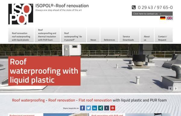Vorschau von www.isopol.de, Isopol Dachsanierung, Inh. Heinz-Werner Schrimpf