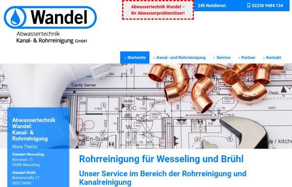 Vorschau von www.rkwandel.de, Kanaltechnik Wandel - Inh. A. Wandel