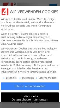 Vorschau der mobilen Webseite www.zukunftfuerkinder.de, Zukunft für Kinder e.V.