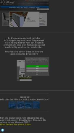 Vorschau der mobilen Webseite www.kellerok.de, Roland Wolf GmbH