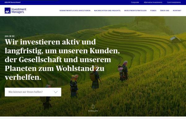 Vorschau von www.axa-im.de, AXA Investment Managers Deutschland GmbH