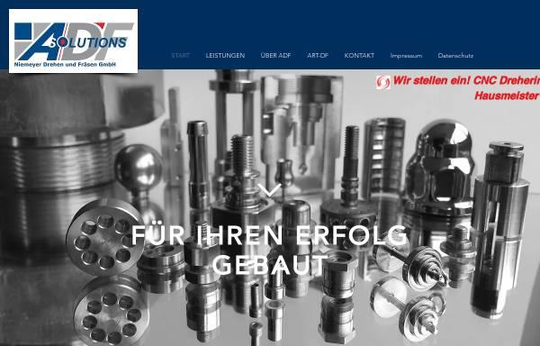 Vorschau von www.alexander-info.de, Alexander Drehen und Fräsen GmbH