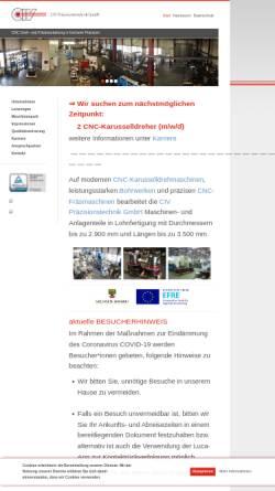 Vorschau der mobilen Webseite www.civ-burg.de, CIV Präzisionstechnik GmbH