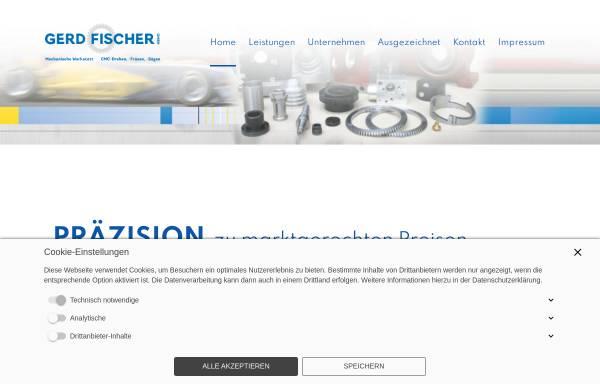 Vorschau von www.fischer-cnc.com, Gerd Fischer GmbH