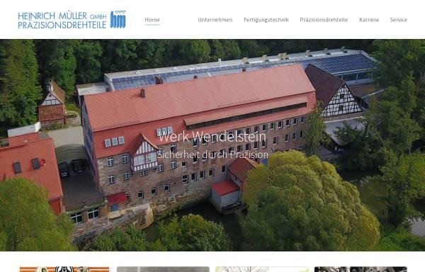 Vorschau von www.mueller-drehteile.de, Heinrich Müller GmbH