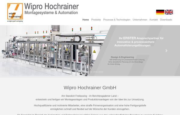 Vorschau von www.hochrainer-cnc.com, Hochrainer GmbH
