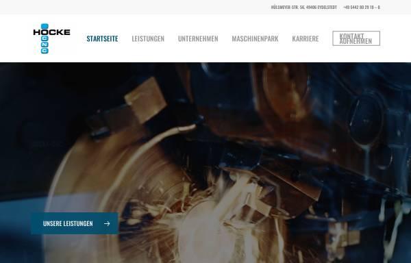 Vorschau von www.hocke-cnc.de, Hocke CNC Metallbearbeitung GmbH