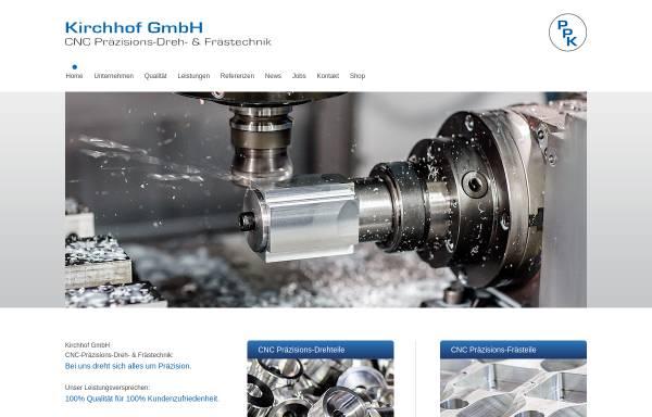 Vorschau von kirchhof-gmbh.de, Kirchhof GmbH