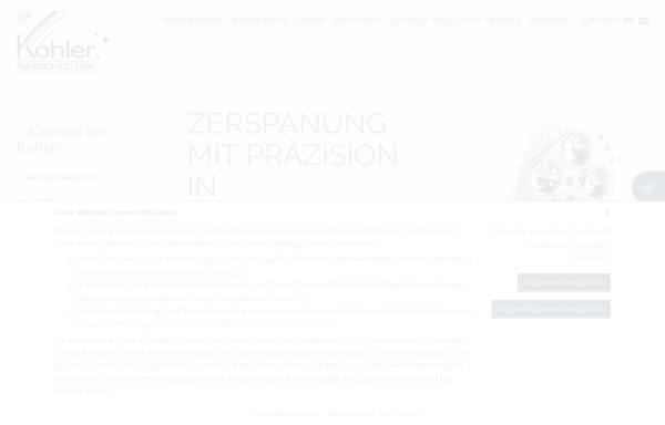 Vorschau von www.w-kohler.de, Kohler CNC-Technik, Inh. Wolfgang Kohler