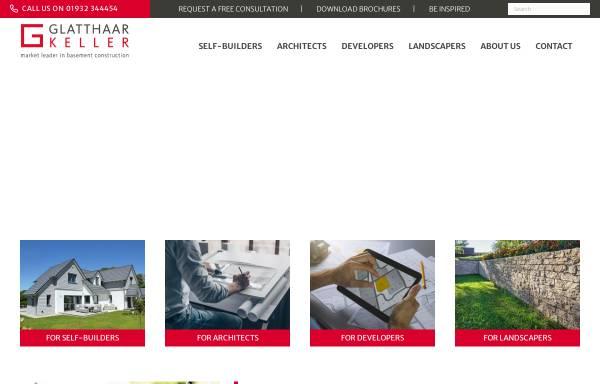 Vorschau von www.glatthaar.com, Glatthaar Fertigkeller GmbH