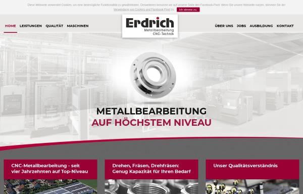 Vorschau von www.erdrichgmbh.de, Roland Erdrich GmbH