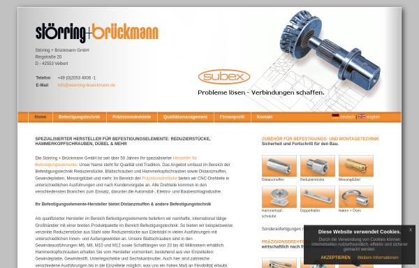 Vorschau von www.stoerring-brueckmann.de, Störring+Brückmann GmbH