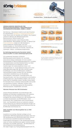 Vorschau der mobilen Webseite www.stoerring-brueckmann.de, Störring+Brückmann GmbH