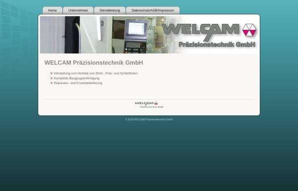 Vorschau von welcam-net.de, WELCAM Präzisionstechnik GmbH