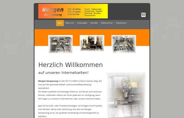 Vorschau von www.wergen.de, Wergen Zerspanungstechnik GbR