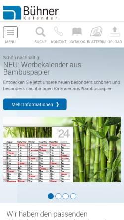 Vorschau der mobilen Webseite www.kalender.de, T. Wilhelm, M. Wilhelm & P. Neumann-Wolff GbR