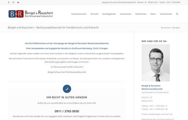 Vorschau von www.bengel-rauschert.de, Bengel & Rauschert