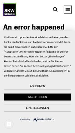 Vorschau der mobilen Webseite www.kanzlei-schweinoch.de, Schweinoch Rechtsanwaelte