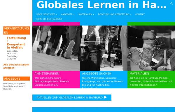 Vorschau von www.globales-lernen.de, Globales Lernen