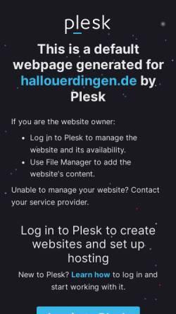 Vorschau der mobilen Webseite hallouerdingen.de, Hallo Uerdingen