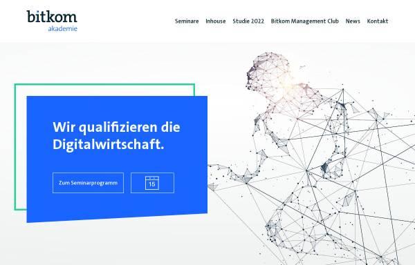 Vorschau von www.bitkom-akademie.de, Bitkom Servicegesellschaft mbH