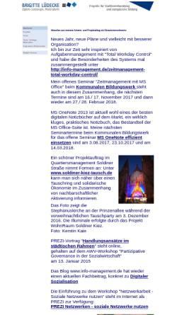 Vorschau der mobilen Webseite www.brigitte-luedecke.de, Brigitte Lüdecke