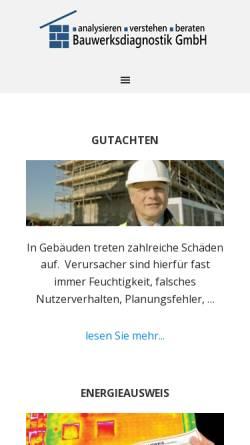 Vorschau der mobilen Webseite www.gul-berlin.de, Gollnick & Lehmann GbR Schulungen und Administration