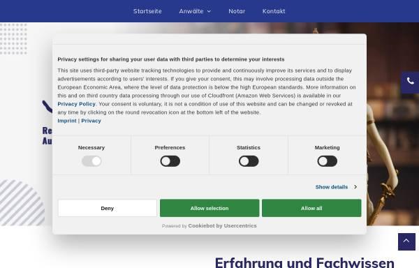 Vorschau von rechtsanwaelte-austermann.de, Austermann und Kollegen