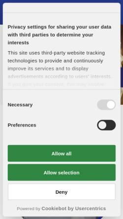 Vorschau der mobilen Webseite rechtsanwaelte-austermann.de, Austermann und Kollegen
