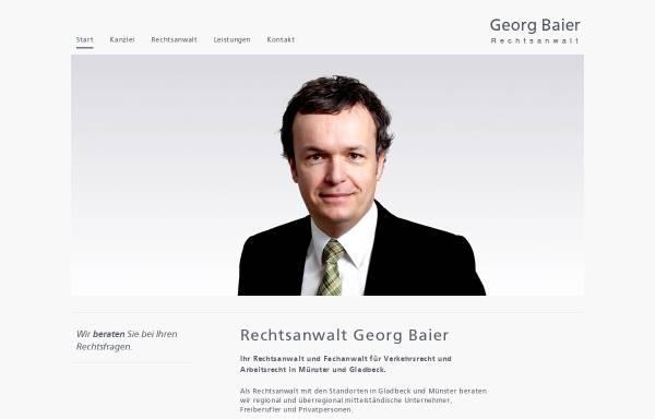 Vorschau von www.kanzlei-baier.de, Baier Georg