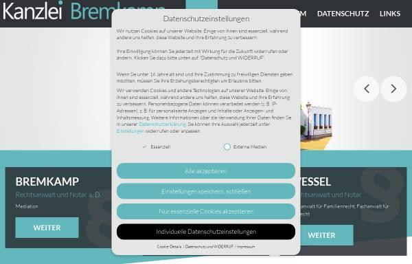 Vorschau von www.bremkamp.de, Bremkamp & Luft-Gautsch