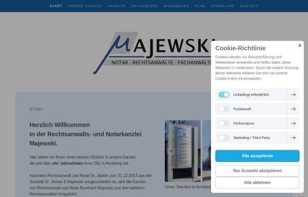 Vorschau von www.rae-jaecker.de, Dr. Jäcker & Majewski