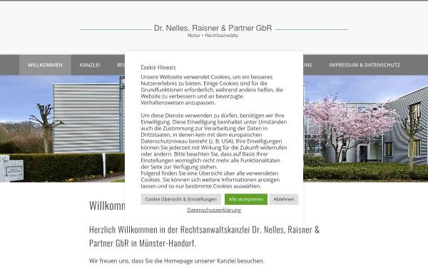 Vorschau von www.dr-nelles.de, Dr. Nelles, Raisner & Partner