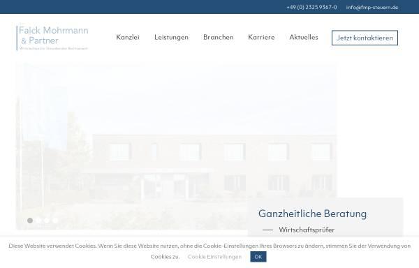 Vorschau von www.herne-steuern.de, Falck - Herrmann - Mohrmann