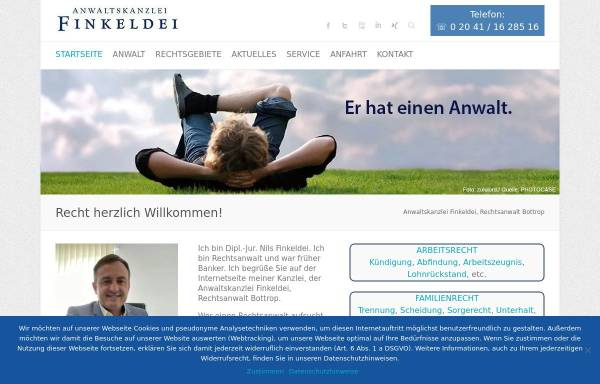 Vorschau von finkeldei-online.de, Finkeldei Nils