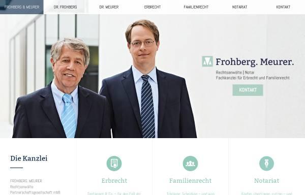 Vorschau von frohberg-meurer.de, Frohberg.Meurer - Notare und Rechtsanwälte