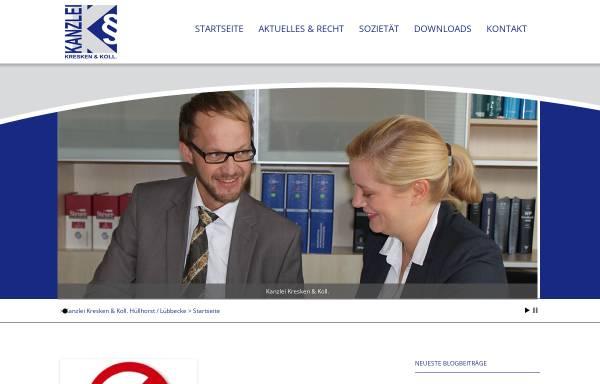 Vorschau von www.jur24.de, Goebel & Kresken