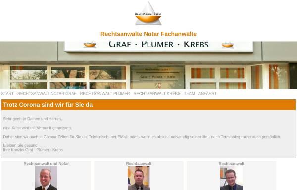 Vorschau von www.graf-pluemer.de, Graf, Plümer, Krebs