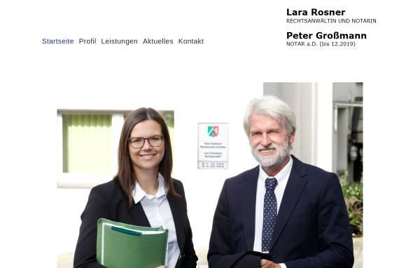 Vorschau von www.rechtsanwalt-notar-grossmann.de, Großmann Peter