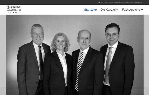 Vorschau von www.rechtsanwalt-hasebrink.de, Hasebrink, Dübbers, Heimann