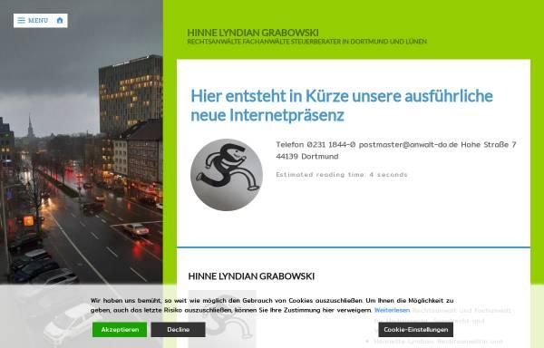 Vorschau von www.anwalt-do.de, Hinne, Grotefels, Lyndian und Grabowski