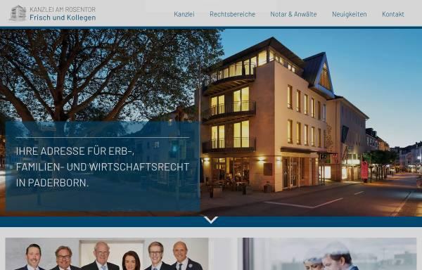 Vorschau von www.kanzlei-am-rosentor.de, Kanzlei am Rosentor