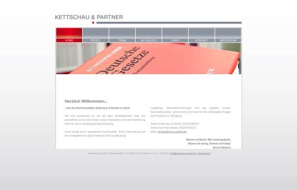 Vorschau von www.kettschau-partner.de, Kettschau & Partner