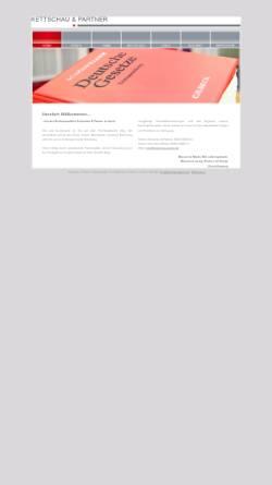 Vorschau der mobilen Webseite www.kettschau-partner.de, Kettschau & Partner