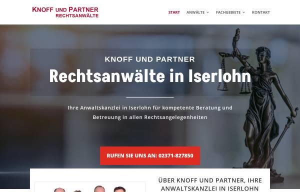Vorschau von knoffundpartner.de, Knoff & Partner