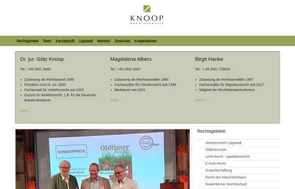 Vorschau von www.knoop.de, Knoop & Knoop